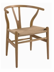 Hans Wegner Wood Wishbone Chair - DC-541-NATURAL