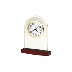 Hansen Glass Table Clock - Howard Miller
