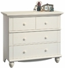 Harbor View 3-Drawer Chest Antique White - Sauder Furniture - 158013