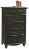 Harbor View 5-Drawer Chest Antiqued Paint - Sauder Furniture - 401323