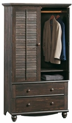 Harbor View Armoire Antiqued Paint - Sauder Furniture - 401322