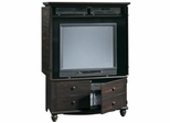 Harbor View Entertainment Armoire Antiqued Paint - Sauder Furniture - 138087