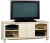 Harbor View Entertainment Credenza Antiqued White - Sauder Furniture - 403679