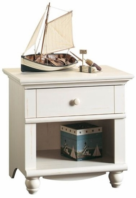 Harbor View Night Stand Antique White - Sauder Furniture - 400639
