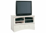 Harbor View Universal TV Stand Antiqued White - Sauder Furniture - 400950
