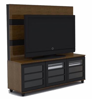 Harmony 56 Inch TV Console and Support Panel (No Bracket) - Nexera Furniture - 400150
