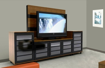 Harmony Entertainment Center Set - Nexera Furniture - 400153