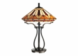 Harp Tiffany Table Lamp - Dale Tiffany
