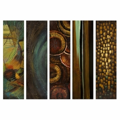 Harper Wall Decor (Set of 5) - IMAX - 47224-5