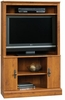 Harvest Mill Corner Entertainment Center Abbey Oak - Sauder Furniture - 404959