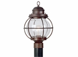 Hatteras 1 Light Post Lantern - Kenroy Home - 90967GC