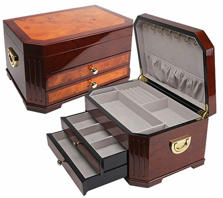 Havana Jewelry Box in Rosewood - JBQ-SA104