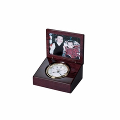 Hayden Portrait Table Clock in Rosewood Hall - Howard Miller