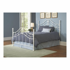 Heartland Metal Bed in Cream - Largo - LARGO-ST-1245XHF
