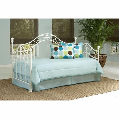 Heather Metal Daybed in Cream - Largo - LARGO-ST-845