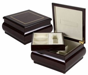 Heidelberg Jewelry Box in Mahogany - JBQ-SA007