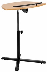 Height Adjustable Cherry Laptop Computer Desk - NAN-LT-04-GG