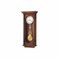 Helmsley Dual Chime Wall Clock in Winsor Casual - Howard Miller