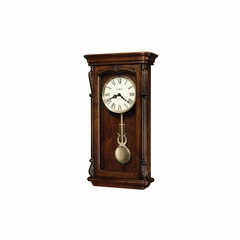 Henderson Chiming Wall Clock - Distressed Finish - Howard Miller
