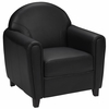 HERCULES Envoy Series Black Leather Chair  - BT-828-1-BK-GG
