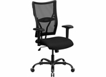 HERCULES Series 400 lb. Capacity Big & Tall Black Mesh Office Chair - WL-5029SYG-A-GG