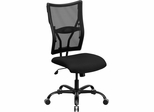 HERCULES Series 400 lb. Capacity Big & Tall Black Mesh Office Chair  - WL-5029SYG-GG