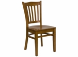 HERCULES Vertical Slat Back Wood Chair with Cherry Finish - XU-DGW0008VRT-CHY-GG
