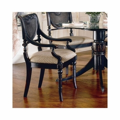 Heritage Cane Arm Chair - Set of 2 - Largo - LARGO-ST-JS-C403B-44