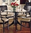 Heritage Carved Dining Table with Glass Top - Largo Furniture - JS-C403B-TBL