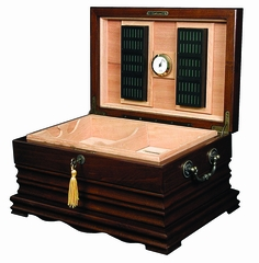 Heritage Collection The Tradition Desktop Humidor - Cherry - HUM-150SW