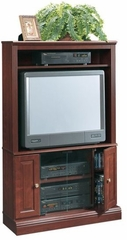 Heritage Hill Corner Entertainment Center Classic Cherry - Sauder Furniture - 104757