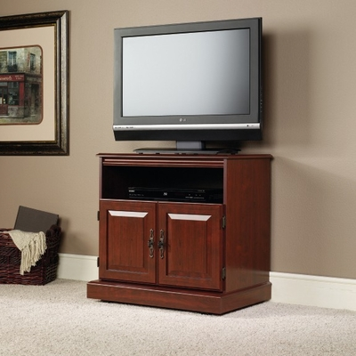 Heritage Hill TV Cart Classic Cherry - Sauder Furniture - 102786