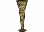 Herringbone Large Vase - Dale Tiffany