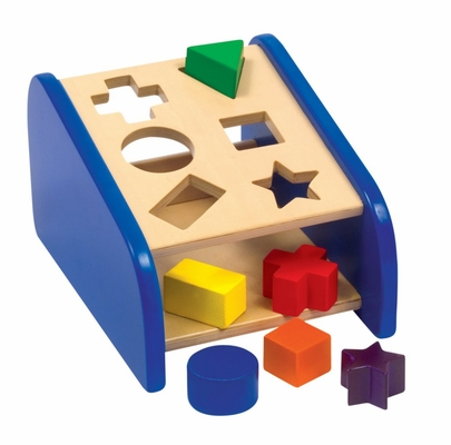 Hide 'n Seek Shape Sorter - Guidecraft - G5073