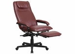 High Back Burgundy Leather Executive Reclining Office Chair - BT-70172-BG-GG