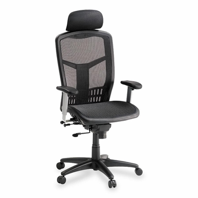 High Back Chair - Black - LLR60324