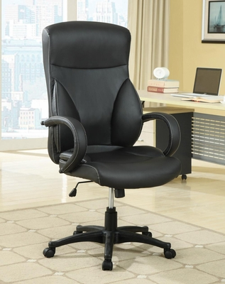 High Back Executive Office Chair in Black - 800210
