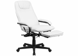 High Back White Leather Executive Reclining Office Chair - BT-70172-WH-GG