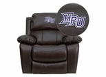 High Point University Panthers Leather Rocker Recliner - MEN-DA3439-91-BRN-45011-EMB-GG