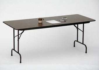 "High-Pressure 3/4"" Top Folding Table 24"" x 72"" - Correll Office Furniture - CF2472PX"