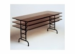 "High-Pressure 5/8"" Top Adjustable Folding Table 30"" x 96"" - Correll Office Furniture - CFA3096P"