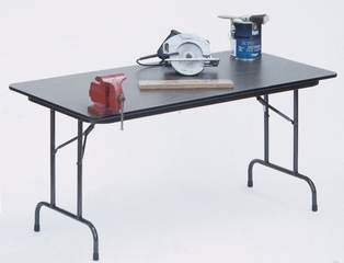 "High-Pressure 5/8"" Top Folding Table 18"" x 60"" - Correll Office Furniture - CF1860P"