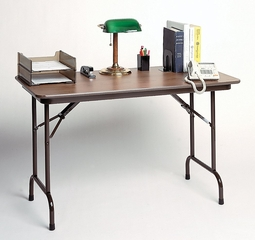 "High-Pressure 5/8"" Top Folding Table 24"" x 48"" - Correll Office Furniture - CF2448P"