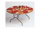 "High-Pressure 5/8"" Top Folding Table 48"" Round - Correll Office Furniture - CF48P"