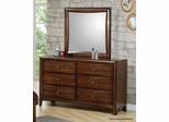 Hillary and Scottsdale Contemporary Youth 6 Drawer Dresser - 400283