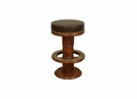 "Hillis 30"" Stool in Suede - American Hertiage - AH-130863"