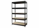 Hirsh Riveted Steel 5 Shelf Unit - Hirsh Industries - 17126