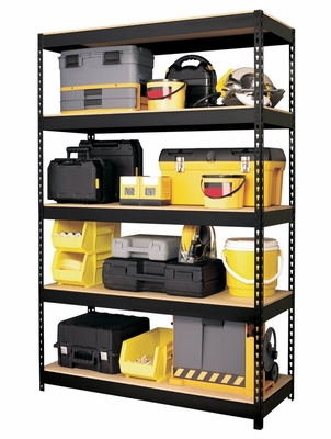 Hirsh Riveted Steel 5 Shelf Unit - Hirsh Industries - 17313