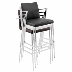 Hitchcock Barstool White (Set of 2) - LumiSource - BS-JMB-HITC-W2