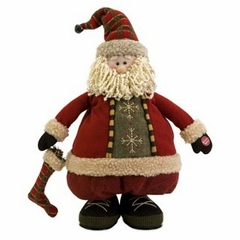 Holiday Santa with Adjustable Legs - IMAX - 57363